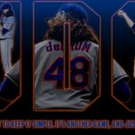 Mets : Tomorrow JdeGrom19 will take the mound and try to do what hes done all year. #LGM … http://t.co/iWHOlm4p4a http://t.co/GHcAHPfgkT