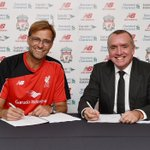 Id like to Welcome our new manager Jurgen Klopp to @LFC. #KloppLFC #YNWA http://t.co/ox28xg6iBR
