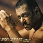 """""""Wrestling is not a sport. Its about fighting what lies within."""" #Sultan @BeingSalmanKhan http://t.co/f2Fdjpa6Ea"""