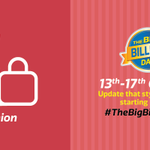 5 days of great offers on Fashion start 13th Oct! 500 RTs to reveal the category for Day 2! #BigBillionDaysLineup http://t.co/pV279O0UbO
