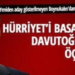 Hürriyeti basan AKPli Boynukalından çok konuşulacak Davutoğlu tweetleri http://t.co/M5bOnEaejB http://t.co/DUjeC0JHPn