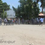 Sunauli border sees no protest File Photo:Police, protesters clash at Sunauli border point http://t.co/QPHrUz3Qkt http://t.co/DOIqnFRDbX