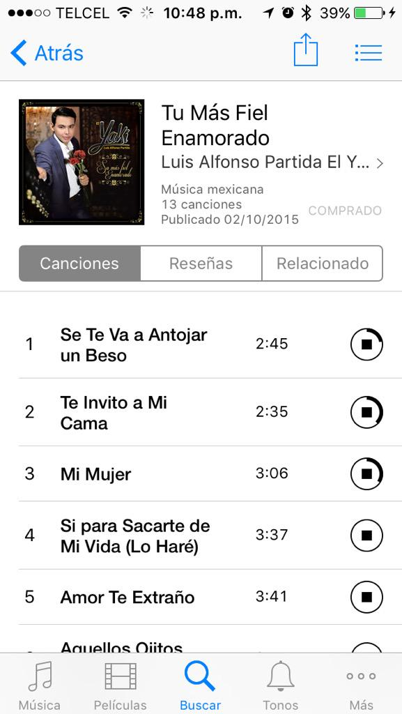 Ya esta disponible el álbum de @Luiselyaki @RanchMusicSin Rt y a cómpralo http://t.co/5UO8fhWS9i