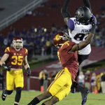 ITS AN UPSET! Washington defeats No. 17 USC in the Coliseum 17-12. http://t.co/cxAVdc8SDw