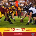 FINAL: UW 17, USC 12. The Trojans fall to the Huskies at the Coliseum. #FightOn http://t.co/edgDdVRjSV