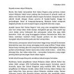 Marilah baca perutusan oleh YB @Khairykj sempena #HariSukanNegara. Besok kita #JomTurunPadang http://t.co/UReUMlYRIs