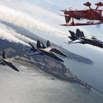 Saw this from far below: RT @SFGate: Practice makes perfect: How #BlueAngels dodge disaster. http://t.co/DEQWZ3Qs07 http://t.co/bWY8W6ct6m