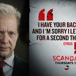 Such a heartfelt moment from Cyrus! Yes - @jscandalp #Scandal http://t.co/SGgCXFYXIV
