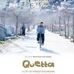 "Poster of the upcoming Pakistani movie ""Quetta, the city of forgotten dreams"" #BeautifulBalochistan #Film #Pakistan http://t.co/aKkDSV4nzQ"