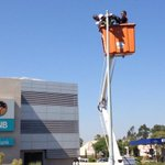 """Launching our """"Seeing is Beliving"""" #Solar LED Street Lighting 1 of the Activities in more than 50 countries #IYL2015 http://t.co/Ywt9KKKpMc"""