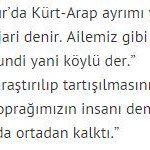 """Kuşatıcı""""Türk milleti""""anlayışıyla etnikçilik farkına güzel örnek.Aziz Sancar """"Türküm""""diyor, HDPli yeğene göre ise O: http://t.co/WqMktnOKC6"""