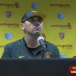 #USC head coach Steve Sarkisian full video following the loss to #UW. http://t.co/rZXBzzGmhf http://t.co/jbfyy2IlWb