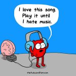 Heart VS Brain (By Awkward Yeti) See more here: http://t.co/dNCV7JrlBS http://t.co/SP0Wyna0p0