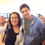 Ms. Ai Ai and @aldenrichards02 arrived safely in Japan! © gmapinoytv   #ALDUBComeWhatMay http://t.co/WoL0c0OmWJ
