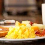 Image of breakfast from Twitter