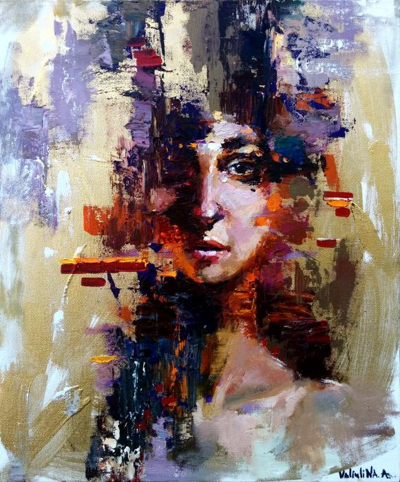Abstract woman (original painting) by Anastasiya Valiulina via @artfinder https://t.co/Yqk02hb7jM http://t.co/bv59bFxZ76