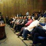 [AHORA] Comienza sesión del Consejo Superior Universitario que pretende elegir hoy al nuevo rector de la UNA http://t.co/iw1WUoB08T