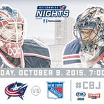 Opening Night is HERE!   Preview tonights #CBJ-#NYR matchup: http://t.co/zdrauO2ZP4 http://t.co/0BJSrLSPeG