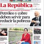 #Portadasdeldía: Verónika Mendoza lidera la votación de elecciones internas del Frente Amplio http://t.co/lq5T6IgL2v http://t.co/XQE4iqXY3e