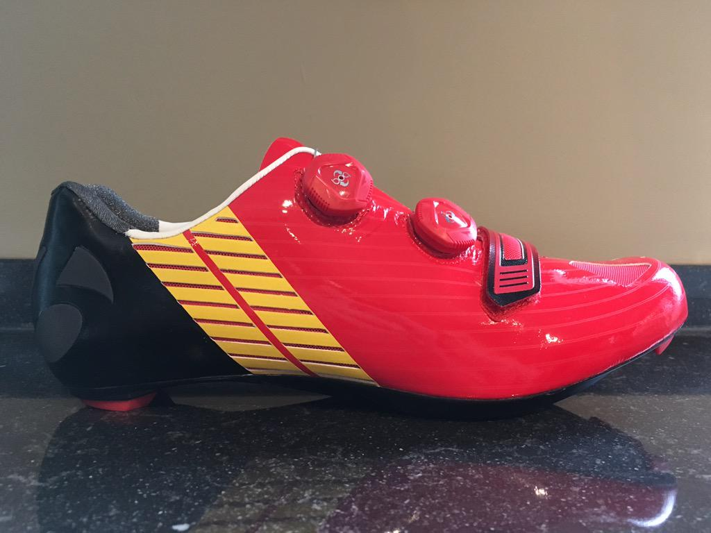 How cool is this!? #Belgium RT @NVHooydonck: Thanks @Bontrager for the new