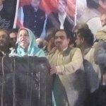 Samina Khalid Ghurki says Lahore is standing w/ PPP,criticises PMLN&PTI 4 fielding billionaires. #NA122TeerKa @MCMPPP http://t.co/rAWr3J5iDV
