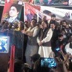 PPP leader Aitzaz Ahsan addressing to jalsa in Lahore. #NA122TeerKa @ChAitazazAhsan @sherryrehman @barristeraamir http://t.co/BJCW13lFMz