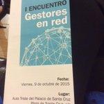 Hoy estamos en #GestoresEnRed presentando el proyecto colectivo #EnjuniolaEsgueva @AVPilarica @unionesgueva http://t.co/KaCxzPkKf1