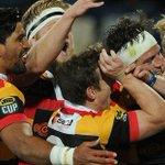 Hat-trick to Brad Weber has carried Waikato to a stunning Ranfurly Shield win in Napier - http://t.co/b3u1ygxFEQ http://t.co/othorQ5jKn
