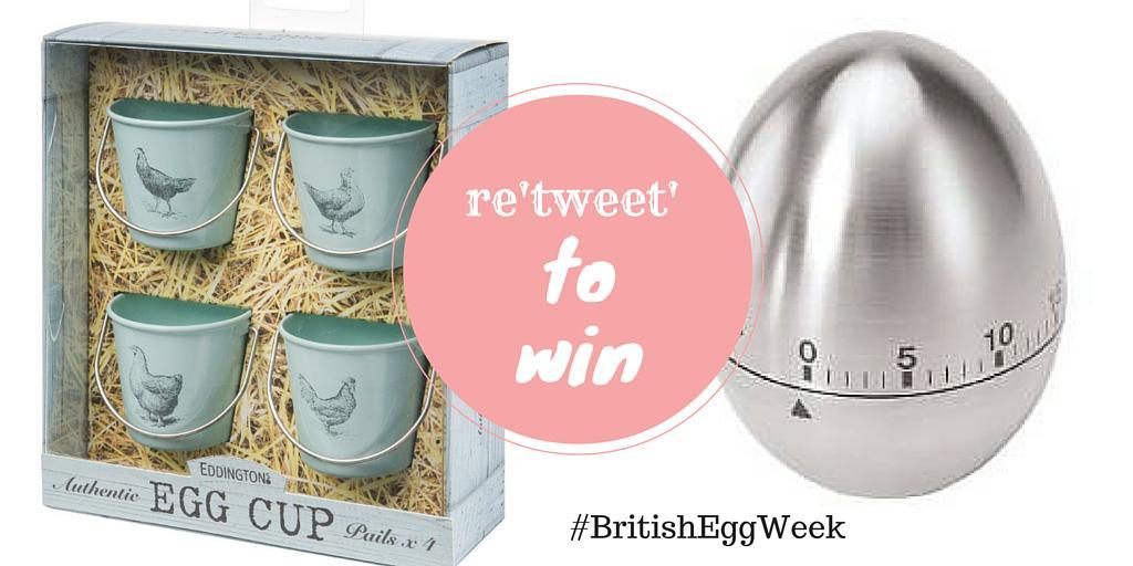 Most eggscellent! Celebrate #BritishEggWeek. Follow & RT & to #WIN egg cups & timer. T&C's: http://t.co/QDJfb21HU1 http://t.co/Vi75isQBLp