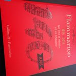 #VendrediLecture ou plutôt vendredi catalogage ! Aujd, les 140 ans de #Flammarion :-) http://t.co/DIg5rnWZmu