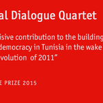 BREAKING The 2015 Peace #NobelPrize is awarded to the National Dialogue Quartet in Tunisia. Our analysis coming soon. http://t.co/EtobC3tYIb
