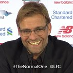 "Nothing normal about klopp ebullient and effervescent is more like it ""@LFC: Jürgen Klopp. #TheNormalOne #KloppLFC http://t.co/RyMcLagQCx"""