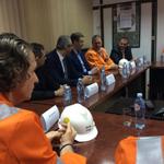На састанку са руководством и представницима синдиката Железаре Смедерево #zelezara http://t.co/DVa7cNQ1Jg