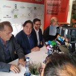 """El director de cine Oliver Stone está en Palma presentando """"La historia silenciada de Estados Unidos"""". @OCRMallorca http://t.co/mDXWnb8V2Q"""