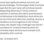 My favorite part of the Nobel Committee press release about #NobelPeacePrize to #Tunisia #RealityChecked #Nobel http://t.co/vW8QXE1RKW