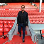 PHOTO: Jürgen Klopp walks out of the Anfield tunnel and out onto the pitch for the first time as #LFC boss #KloppLFC http://t.co/1QseV7Q0XF