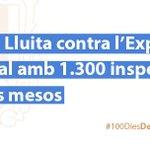 En aquests #100DiesDeCanvi hem realitzat 1.300 inspeccions extraordinàries per lluitar contra lexplotació laboral. http://t.co/8c8Ynr7vlq