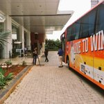 The team bus is here ! @FCPuneCity squad to leave in a bit ! Couple of hours to kick-off ! #PUN #KarPunekars http://t.co/XSmEBJBvse