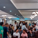 Many #entrepreneurs introducing their #ideas #tsparks @YourStoryCo @_techsparks #tsparks #startups #pune http://t.co/B8OlKHuIZd