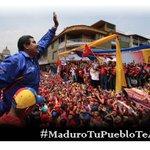 Desde cada rincón de esta patria que Bolívar libertó #MaduroTuPuebloTeApoya por ser el hijo de Chávez http://t.co/Vqqxn3kFZe