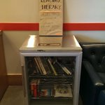 Awesome @PhilzCoffee Redwood City. Love your little library. Help us inspire kids to love reading with @BigLiftTeam http://t.co/T1PCTtiu05
