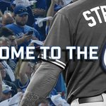 .@MStrooo6 is on the mound and set to defend home turf in Game 2 of the #ALDS. #ComeTogether http://t.co/HmB4gDJLUf