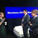 #CornellPresident Beth Garrett getting set for her appearance on @BloombergTV http://t.co/ogOH0pSPRq