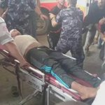 New martyr now to be the 4th martyr by Israeli forces during the clashes east of #Gaza .. #intifadaAlAqsa http://t.co/t9hFaZe2Ag