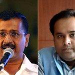 Have sacked minister for corruption, announces Arvind Kejriwal on live TV http://t.co/HKOFLrU9J3 http://t.co/2uUtkaGLEn