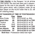 The #Rangers youth movement came to play yesterday. http://t.co/3F2zgcUeoW