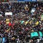 #صورة | من تشييع جثمان الشهيد مهند حلبي في مدينة البيرة اليوم. #انتفاضة_القدس http://t.co/eHcNosY2wP