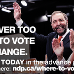 Advance polls open in 3 hours. Find out where to vote & cast your ballot today: http://t.co/aWCCnOFRGy #NDP http://t.co/R2QtTThUuv