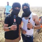 Innocent beer drinkers being targeted by the Israelis on the Gaza border. http://t.co/WTsphPwKRe