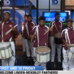 Check out Linden McKinleys marching band live in the #10TV studio - http://t.co/APWdD0pnKp http://t.co/KFMxoGCCSm